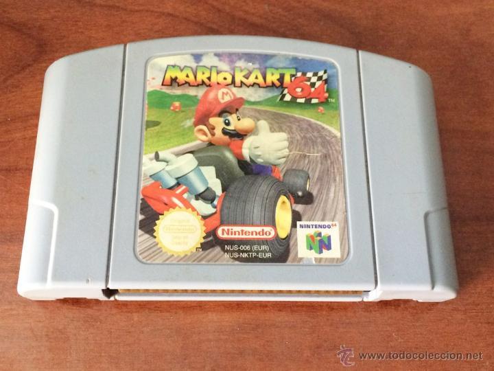 Mario Kart 64 Juego Nintendo 64 N64 Pal Sol Comprar