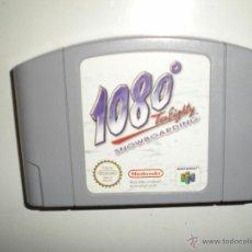Videojuegos y Consolas: JUEGO1080 TEN EIGHTY SNOWBOARDING DE NINTENDO 64 MUY BUEN ESTADO. Lote 47633932