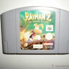Videojuegos y Consolas: JUEGO NINTENDO 64 RAYMAN 2 THE GREAT ESCAPE (LA GRAN ESCAPADA) MUY BUEN ESTADO. Lote 47634064
