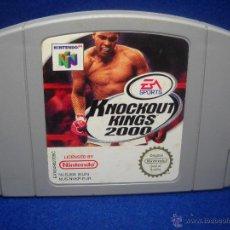 Videojuegos y Consolas: JUEGO KNOCKOUT KINGS 2000 - NINTENDO 64 - N64. Lote 48320887