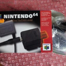 Videojuegos y Consolas: MODULADOR RF PARA NINTENDO 64. Lote 49353052