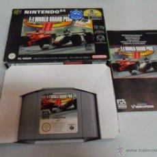Videogiochi e Consoli: F-1 WORLD GRAND PRIX 2 II F1 - NINTENDO 64 - N64 - PAL ESP COMPLETO. Lote 50613526