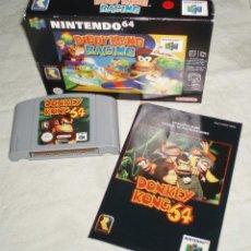 Videojuegos y Consolas: JUEGO NINTENDO64 DONKEY KONG64 MAS EL LIBRO DE INTRUCCIONES. Lote 51466139