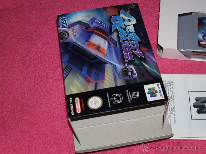 Videojuegos y Consolas: JUEGO PARA NINTENDO 64 AERO GAUGE COMPLETO VERSIÓN PAL EUR - Foto 3 - 268736734