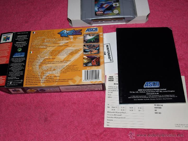 Videojuegos y Consolas: JUEGO PARA NINTENDO 64 AERO GAUGE COMPLETO VERSIÓN PAL EUR - Foto 4 - 268736734