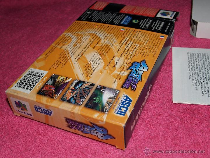 Videojuegos y Consolas: JUEGO PARA NINTENDO 64 AERO GAUGE COMPLETO VERSIÓN PAL EUR - Foto 5 - 268736734