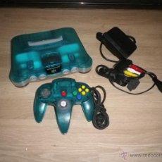 Videojuegos y Consolas: NINTENDO 64 CONSOLA ICE BLUE LIMITED EDITION. Lote 54414205