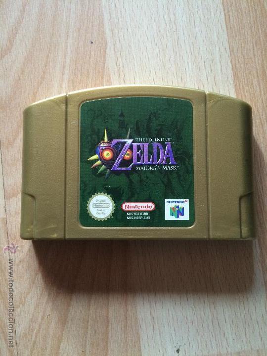 ZELDA MAJORA'S MASK - NINTENDO 64 - (Juguetes - Videojuegos y Consolas - Nintendo - Nintendo 64)