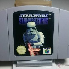 Videojuegos y Consolas: STAR WARS - SHADOWS OF THE EMPIRE ( NINTENDO 64 - PAL - EURO). Lote 142770373