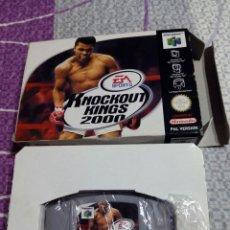 Videojuegos y Consolas: JUEGO CONSOLA NINTENDO 64 KNOCKOUT KINGS 2000. Lote 56874937