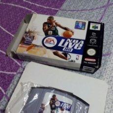 Videojuegos y Consolas: JUEGO CONSOLA NINTENDO 64 NBA LIVE. Lote 56875031