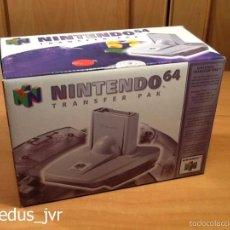 Videojuegos y Consolas: TRANSFER PAK PARA CONSOLA NINTENDO 64 N64 COMPLETO Y NUEVO. Lote 56970131
