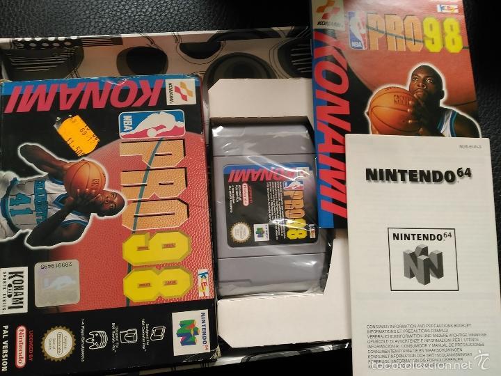 PRO 98 NINTENDO 64 NEW NUEVO A ESTRENAR KONAMI (Juguetes - Videojuegos y Consolas - Nintendo - Nintendo 64)
