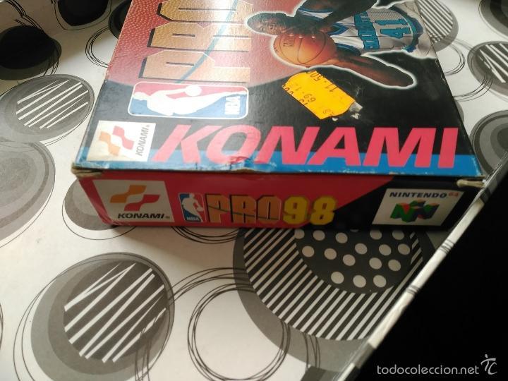 Videojuegos y Consolas: PRO 98 NINTENDO 64 NEW NUEVO A ESTRENAR KONAMI - Foto 4 - 57122450