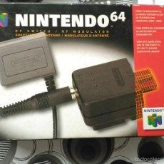 Videojuegos y Consolas: ACCESSORIO NINTENDO 64 N64 GIG RF SWITCH / RF MODULATOR NEW NUEVO A ESTRENAR . Lote 57122625