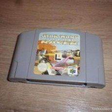 Videojuegos y Consolas: N64 NINTENDO 64 JUEGO STAR WARS EPISODE I RACER PAL. Lote 57927086