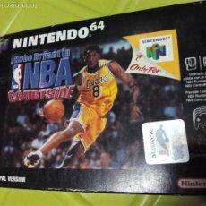 Videojuegos y Consolas: JUEGO CONSOLA NINTENDO 64 KOBE BRYANT NBA. Lote 58331762