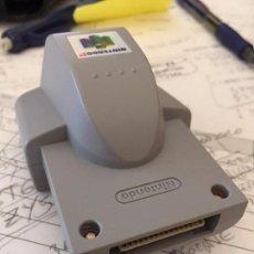Videojuegos y Consolas: RUMBLE PACK PARA NINTENDO 64. ACCESORIO ORIGINAL. Lote 58382625