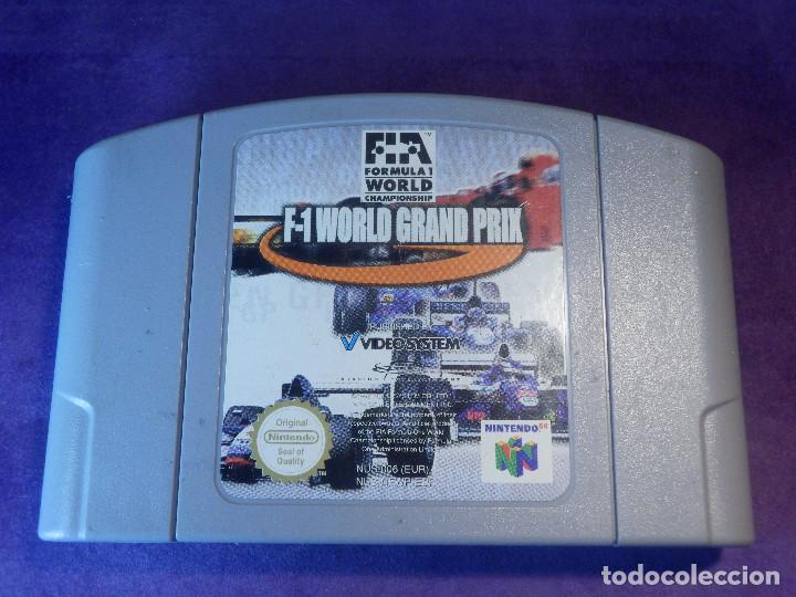 JUEGO PARA CONSOLA - NINTENDO 64 - F1 WORLD GRAND PRIX - (Juguetes - Videojuegos y Consolas - Nintendo - Nintendo 64)
