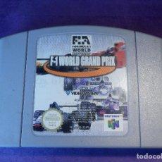 Videojuegos y Consolas: JUEGO PARA CONSOLA - NINTENDO 64 - F1 WORLD GRAND PRIX -. Lote 67015286