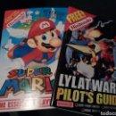 Videojuegos y Consolas: SUPER MARIO 64, LYLAT WARS. GUÍAS DE JUEGO. INGLÉS. NINTENDO MAGAZINE.. Lote 68852909