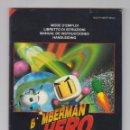 Videojuegos y Consolas: MANUAL DE INSTRUCCIONES NINTENDO 64, BOMBERMAN HERO. Lote 69006325