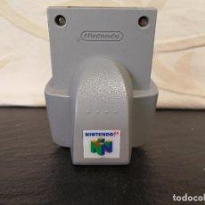 Videojuegos y Consolas: RUMBLE PAK NINTENDO 64 N64 . Lote 74592439