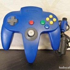 Videojuegos y Consolas: MANDO AZUL NINTENDO 64 N64 . Lote 74592699