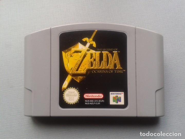 Juego Nintendo 64 Legend Of Zelda Ocarina Of Ti Comprar