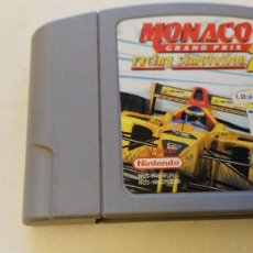 Videojuegos y Consolas: VIDEO JUEGO NINTENDO 64 - PAL - MONACO GRAND PRIX RACING SIMULATION 2. Lote 76791623