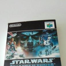 Videojuegos y Consolas: STAR WARS SHADOWS OF THE EMPIRE 64 NTSC. Lote 72905786