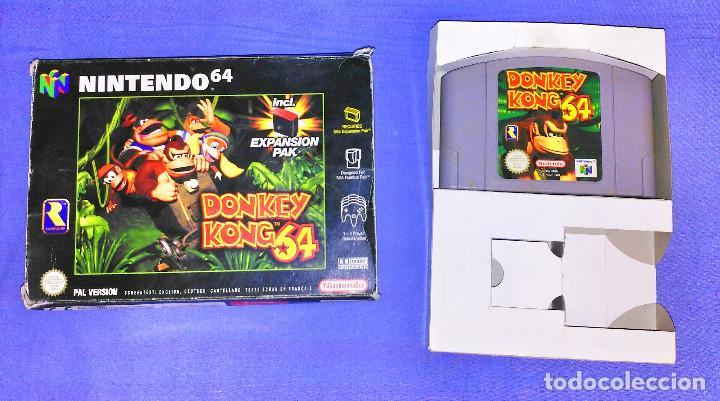 Juego Nintendo 64 N64 Donkey Kong 64 Pal Es Comprar