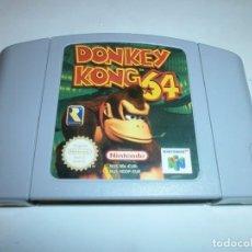 Videojuegos y Consolas: DONKEY KONG 64 NINTENDO 64 PAL ESPAÑA SOLO CARTUCHO. Lote 121911555