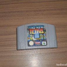 Videojuegos y Consolas: THE NEW TETRIS JUEGO NINTENDO 64 N64 PAL ESPAÑA. Lote 80723178