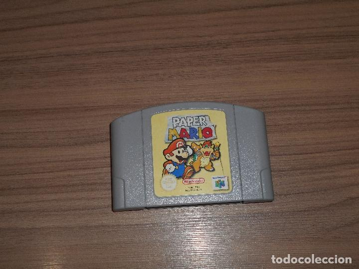 Paper mario juego nintendo 64 n64 pal españa - Sold through