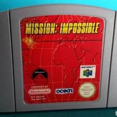 Videojuegos y Consolas: JUEGO MISSION IMPOSSIBLE NINTENDO 64. Lote 82999743