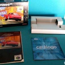 Videojuegos y Consolas: CRUIS'N USA NINTENDO 64 CAJA Y MANUALES . Lote 83026490