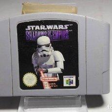 Videojuegos y Consolas: STAR WARS SHAWDOS OF THE EMPIRE ( NINTENDO 64 - PAL - EURO) M16. Lote 86663504