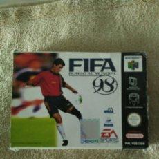 Videojuegos y Consolas: JUEGO FIFA 98 PARA NINTENDO 64. Lote 87630116
