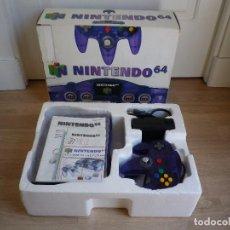Videojuegos y Consolas: NINTENDO 64 CONSOLA GRAPE PURPLE LIMITED EDITION N64 MORADA. Lote 88131388