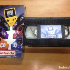 Videojuegos y Consolas: CINTA VIDEO VHS PROMOCIONAL 1999 NINTENDO GAMBE BOY COLOR/NINTENDO 64. Lote 88336288