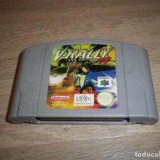 Videojuegos y Consolas: NINTENDO 64 N64 JUEGO V-RALLY EDITION 99 PAL. Lote 88936576