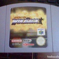 Videogiochi e Consoli: OPERATION WINBACK WIN BACK NINTENDO 64 PROBADO . Lote 91962685