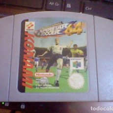 Videogiochi e Consoli: JUEGO SUPERSTAR SOCCER 64 NINTENDO 64 PROBADO FUNCIONANDO. Lote 91968830