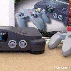 Videojuegos y Consolas: CONSOLA NINTENDO 64 USA (NTSC). PACK ORIGINAL COMPLETO + 2 JUEGOS. Lote 92763020