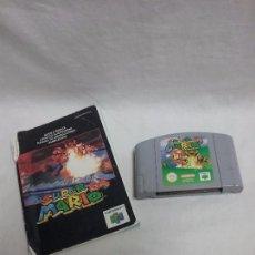 Videojuegos y Consolas: JUEGO SUPER MARIO 64 PARA NINTENDO 64 N64 CON MANUAL DE INSTRUCCIONES . Lote 93283895