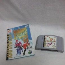 Videojuegos y Consolas: JUEGO NAGANO WINTER OLYMPICS 98 PARA NINTENDO 64 CON MANUAL DE INSTRUCCIONES . Lote 93285095