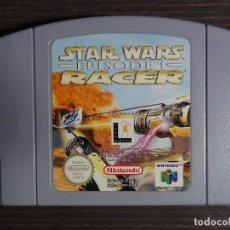 Videojuegos y Consolas: JUEGO NINTENDO N64 STAR WARS EPISODE I - RACER. Lote 120015867