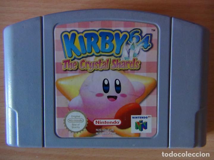 Juego N64 Kirby The Crystal Shard S Comprar Videojuegos Y Consolas