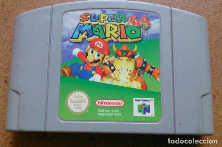 Juego Nintendo 64 Super Mario Comprar Videojuegos Y Consolas